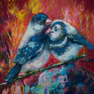 Love Birds by Olena Art