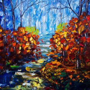 Misty Path by Olena Art