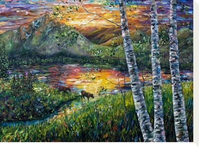 Sleeping Meadow by Olena Art