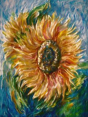 Sunflower by Olena Art