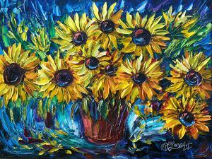 Sunflowers by Olena Art