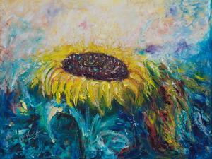 Sunny Flower by Olena Art