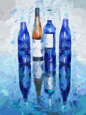 Wine Reflection by Olena Art