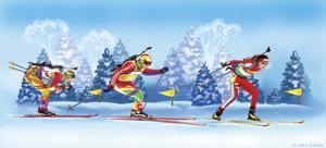 Biathlon by Olga And Alexey Drozdov