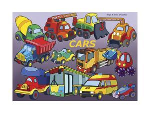 Cars by Olga And Alexey Drozdov