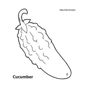 Cucumber by Olga And Alexey Drozdov