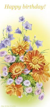 Hand bells and calendula by Olga And Alexey Drozdov