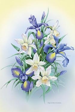 Irises by Olga And Alexey Drozdov