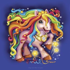 Pony Rainbow by Olga And Alexey Drozdov