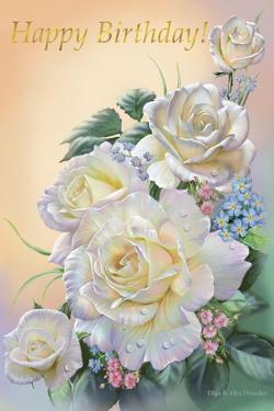 White Rose by Olga And Alexey Drozdov