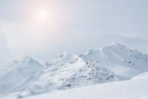 Winter Mountains by Olga Gavrilova