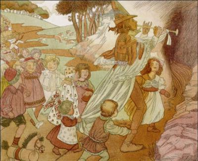 The Children of Hamelin Follow the Pied Piper and are Not Seen Again