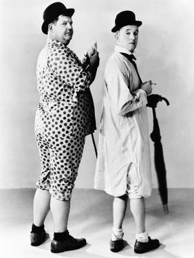 Oliver Hardy, Stan Laurel, Hal Roach Publicity Shot, Early 1930S