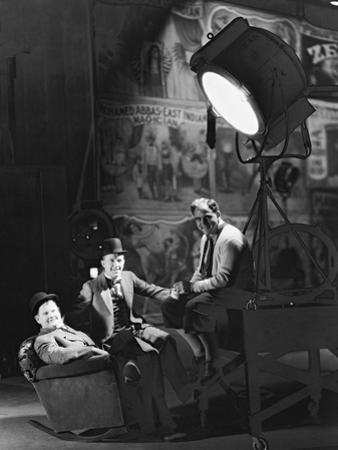 Oliver Hardy, Stan Laurel, Hal Roach