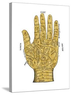 Vintage Palmistry by Oliver Jeffries
