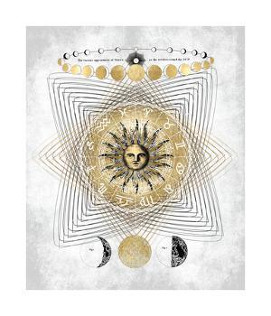 Zodiac Sun I by Oliver Jeffries