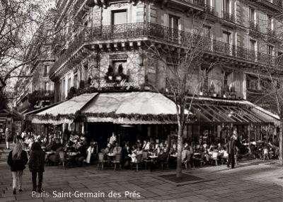 Saint-Germain des Pres, Paris by Oliver Martin Gambier