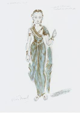 Designs for Cleopatra XLVII by Oliver Messel