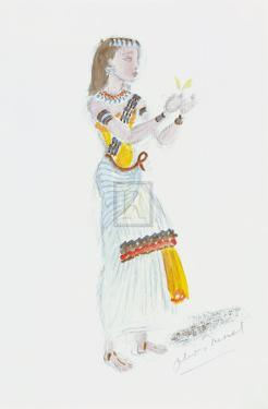 Designs for Cleopatra XXVII by Oliver Messel