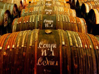 Barrels of Hennessy Cognac, Cognac, Poitou-Charentes, France by Oliver Strewe
