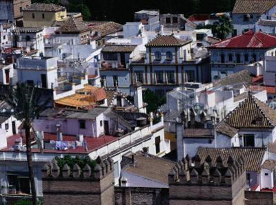 The Rooftops of Seville, Andalucia, Sevilla, Spain by Oliver Strewe