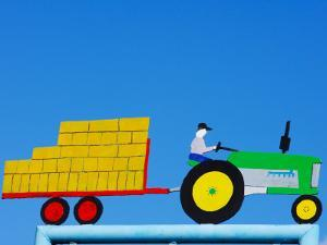 Tractor Sign by Oliver Strewe