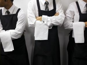 Waiters Ready for Service by Oliver Strewe