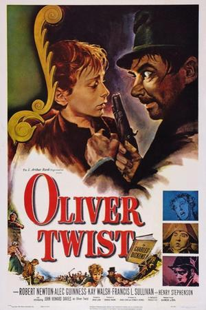 Oliver Twist, John Howard Davies, Robert Newton, 1948