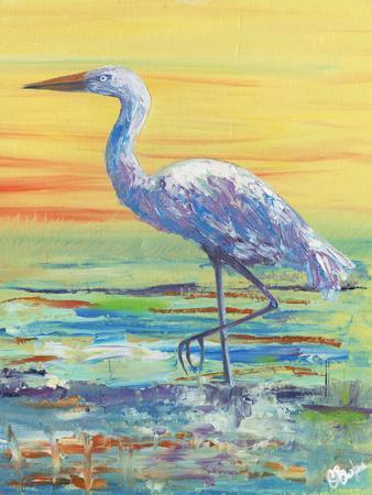 Egret Sunset II