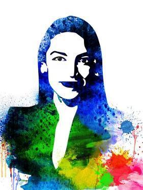 Alexandria Ocasio-Cortez by Olivia Morgan