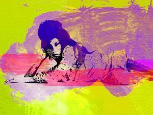 Legendary Amy Watercolor I by Olivia Morgan