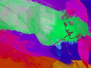 Legendary Audrey Watercolor by Olivia Morgan