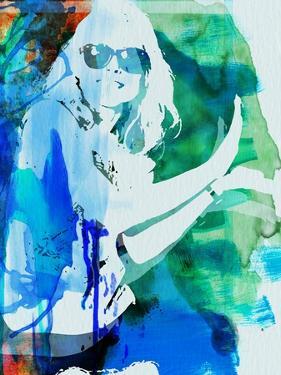 Legendary Blondie Watercolor by Olivia Morgan
