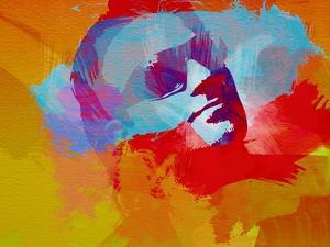 Legendary Bono Watercolor II by Olivia Morgan