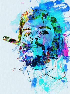 Legendary Che Watercolor by Olivia Morgan