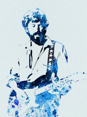 Legendary Eric Clapton Watercolor by Olivia Morgan