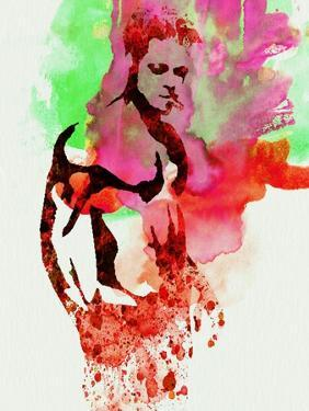 Legendary Fight Club Watercolor by Olivia Morgan