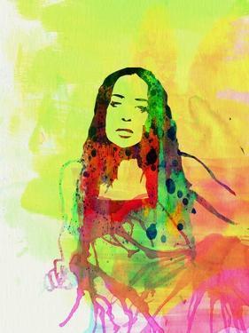 Legendary Fiona Apple Watercolor by Olivia Morgan