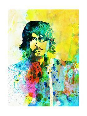 Legendary Foo Fighters Watercolor by Olivia Morgan