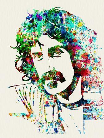 Legendary Frank Zappa Watercolor