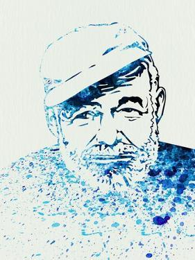 Legendary Hemingway Watercolor by Olivia Morgan