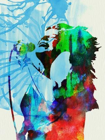 Legendary Janis Joplin Watercolor
