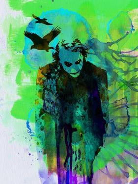 Legendary Joker Watercolor by Olivia Morgan