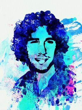 Legendary Josh Groban Watercolor by Olivia Morgan