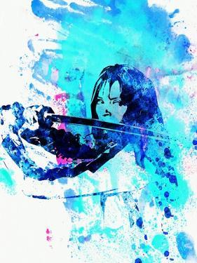 Legendary Kill Bill Watercolor by Olivia Morgan