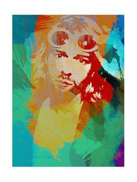 Legendary Kurt Watercolor by Olivia Morgan