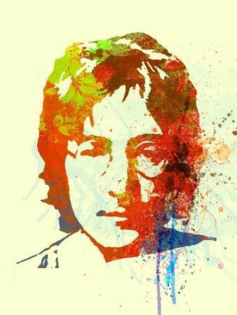 Legendary Lennon Watercolor II