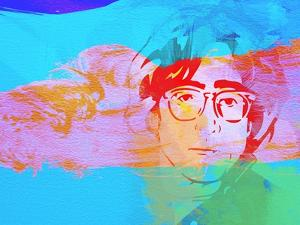 Legendary Lennon Watercolor by Olivia Morgan