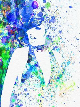 Legendary Liza Minnelli Watercolor II by Olivia Morgan