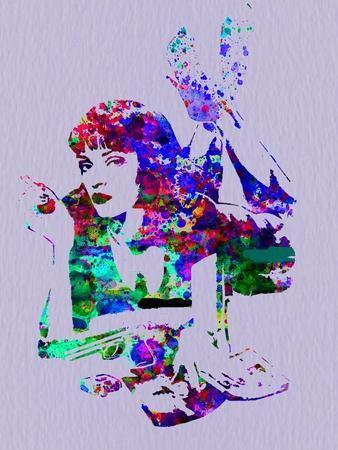 Legendary Mia Wallace Watercolor